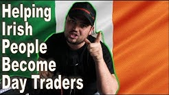 Teaching Irish People How To Trade Stocks