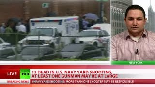 Navy Yard Carnage: 13 dead in Washington DC, gunmen could be at large