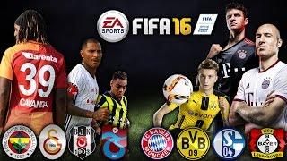 SPOR TOTO SÜPERLİG vs BUNDESLIGA ★  FIFA 16 Ultimate Team ★ PS4