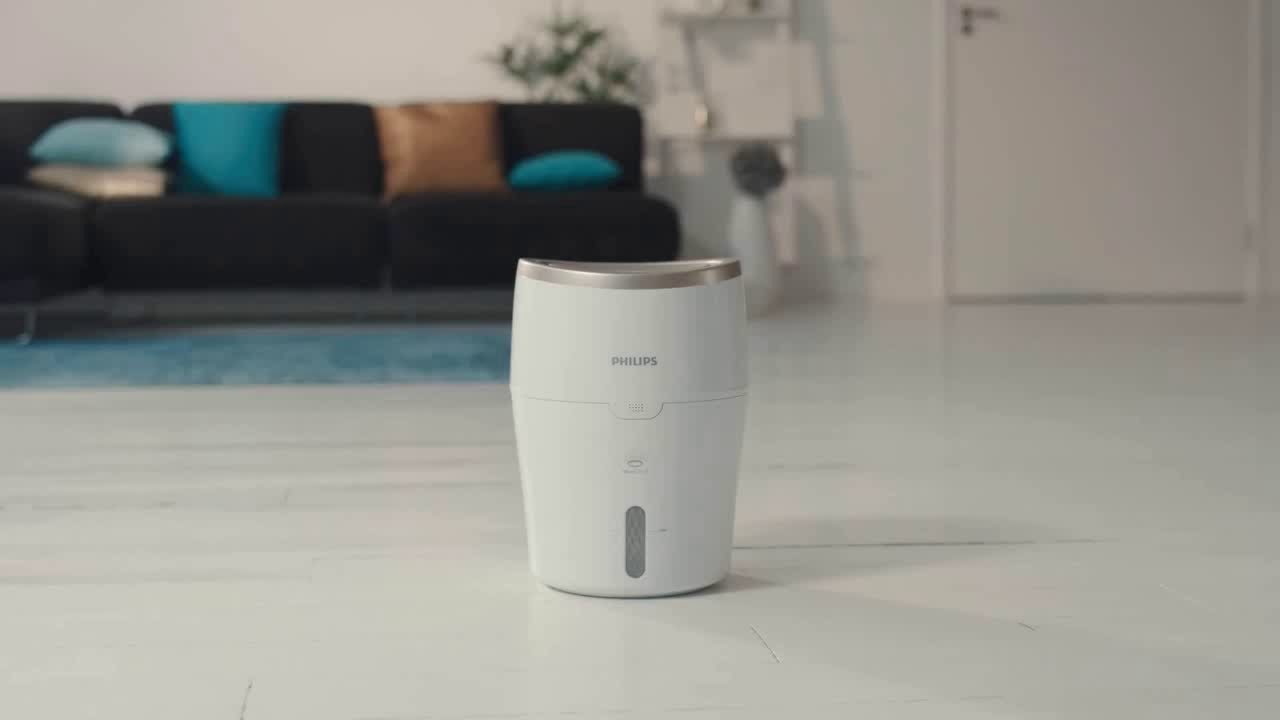 مرطب الهواء فيليبس الصحي من سلسلة ٢٠٠٠ – أبيض (HU4811 / 30)