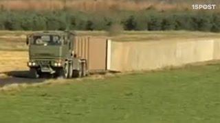 Genial invento revoluciona la forma de construir barreras militares - 15 POST