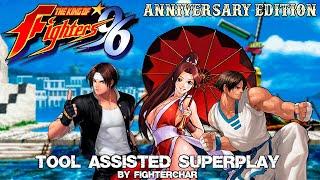 [TAS] KOF96 Aniversary Edition | Kyo - Kim - Mai | Team - Superplay