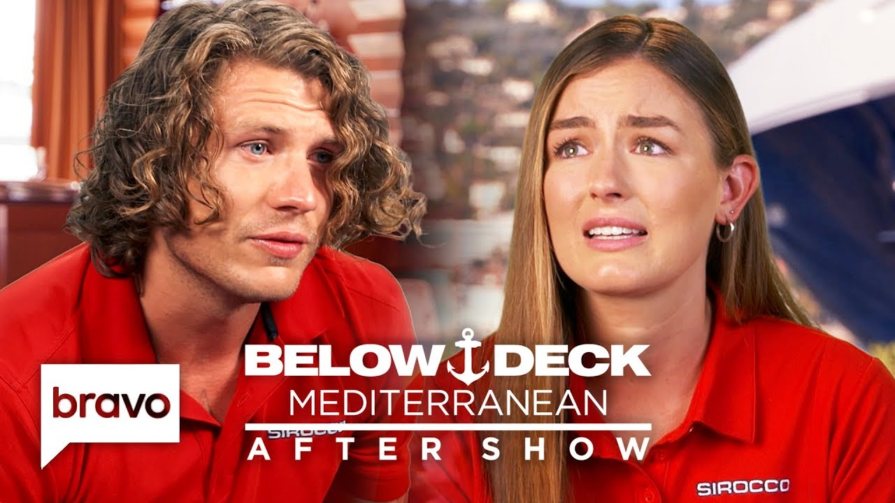 Jack Apologizes For His Insensitive Comment To Aesha | Below Deck Med After  Show Pt 1 (S4 Ep9)