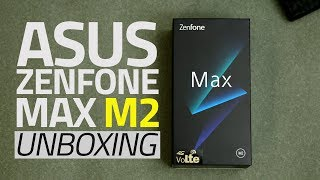 Asus ZenFone Max M2 Unboxing and First Look