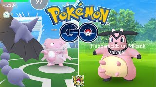 CAPTURA Y PELEA ESPECIAL ULTRABONUS! GLISCOR VS BLISSEY!! [Pokémon GO-davidpetit]