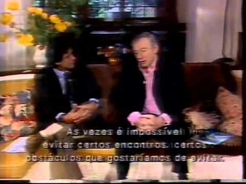 Yves Montand - Conexão Internacional , TV Manchete, Roberto D´avila 1993