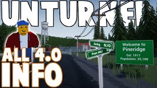 What We Already Know About UNTURNED 4.0! (Devlog 1-13)