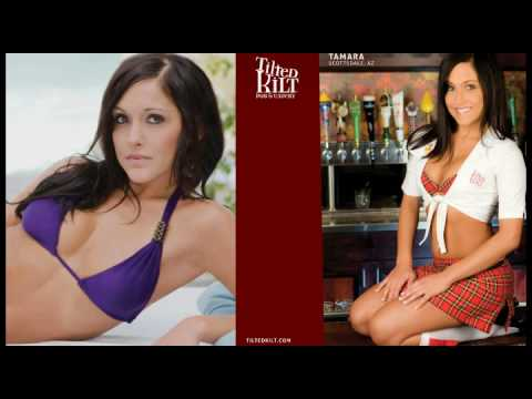 Tilted Kilt 2010 Calendar Girl Photoshoot - YouTube