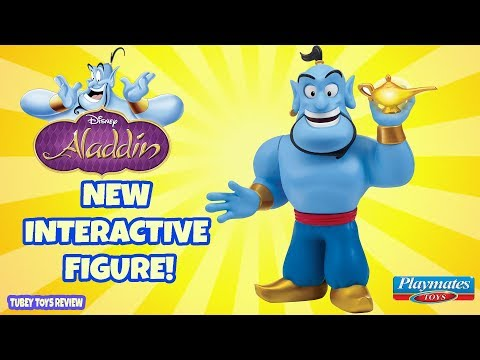 New Disney Aladdin Toys Talking Genie Figure by Playmates | Robin Williams Genie | Tubey Toys