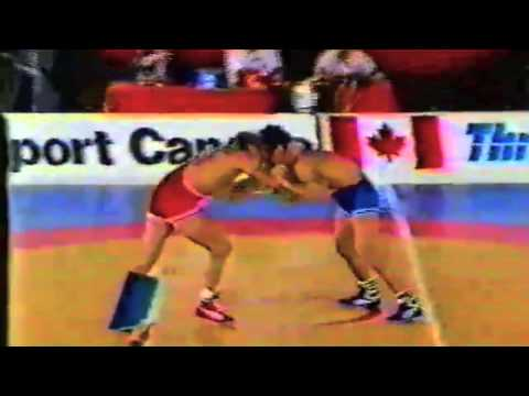 1988 Canada Cup: 68 kg Final Dave McKay (CAN) vs. Tom Giura (USA)