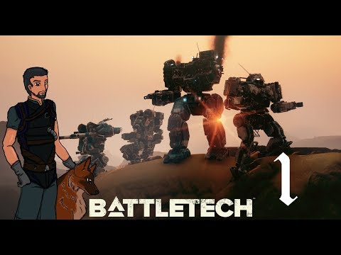 We Can TOTALLY Trust House Espinosa! | Battletech Campaign Gameplay #1