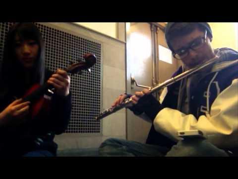 Verdanturf Town - Pokemon R/S/E [Flute/Viola cover (Live Collab w/ xclassicalcatx!)]