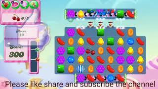 Candy crush saga level 1400/No Booster