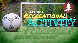 Recreational Activities @ Alpine Camp and Conference Center