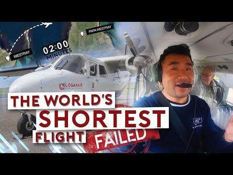 The World's SHORTEST Flight….FAILED