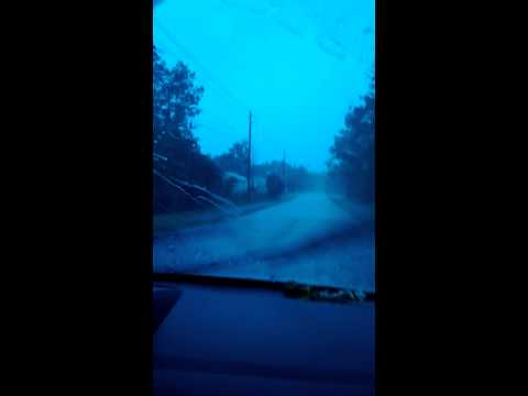 Flash flood-ish weather in palm coast!!