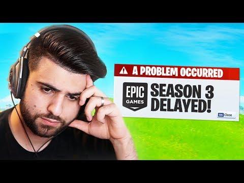 Fortnite Season 3 Has Been DELAYED...