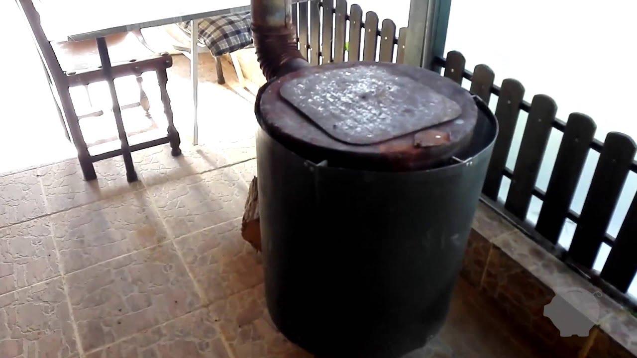 C mo hacer una estufa de le a casera con un termo - Como hacer una cocina de lena ...