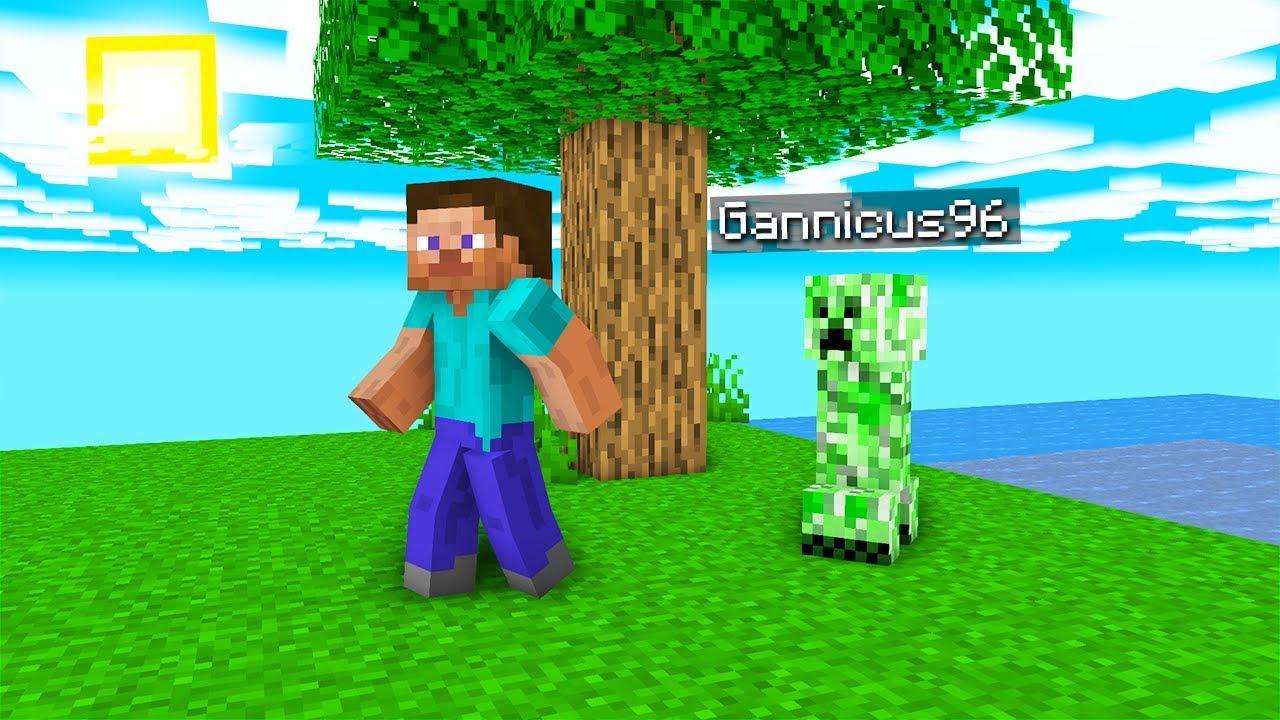 Joc Minecraft Ca Un Creeper!