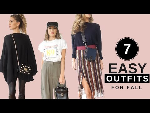 7 EASY Go-To Outfit Ideas For Fall 2017