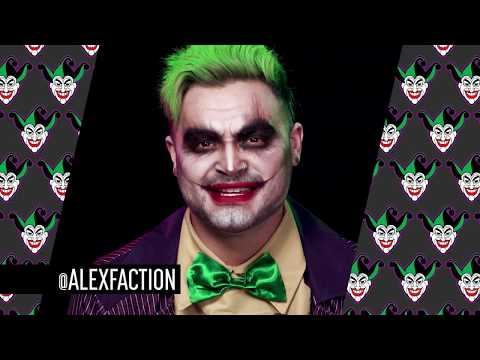 Faces of DC: The Joker Halloween Makeup Tutorial