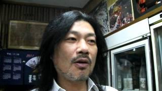 お話) ご主人 藤井輝男さん.