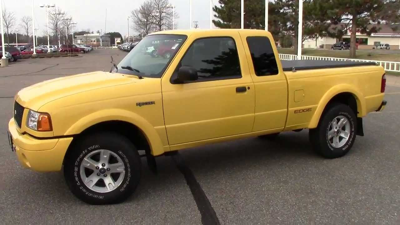 2002 Ford Ranger Edge Edition 4x4