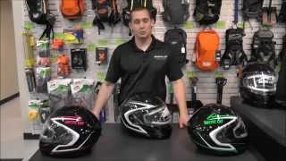Arctic Cat Modular Helmets - Black, Grey, Green, & Pink