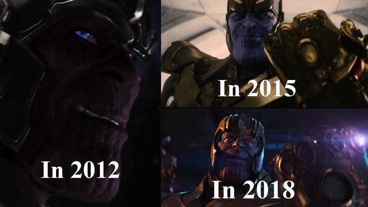 Thanos All Scenes in Marvel Movies   Since 2012 - YouTube