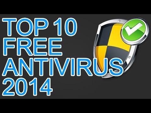 2014 Best Top 10 Free Antivirus Softwares