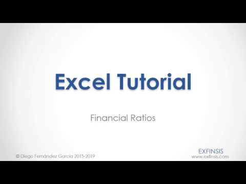 MS Excel Ratio Analysis( SIMPLE )из YouTube · Длительность: 9 мин10 с
