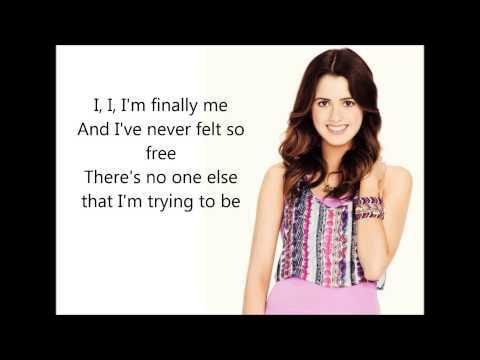 Laura Marano - I'm Finally Me (Austin&Ally: Turn It Up) - Lyrics Video