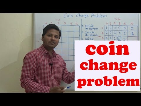 Coin change problem(Dynamic Programming)(Code/Algorithm/program)