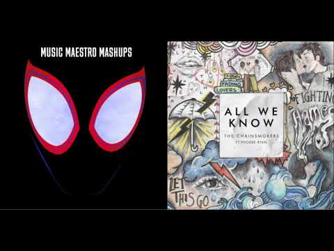 Sunflower/All We Know [Mashup] - Post Malone, Swae Lee, The Chainsmokers & Phoebe Ryan