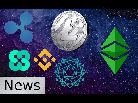 Cryptocurrency News - Binance, Litecoin, Power Ledger, Ethos, Ethereum Classic, and Ripple