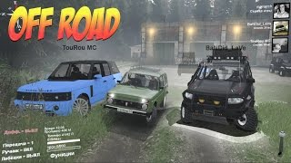 spintires: ТРИ БОГАТЫРЯ OFF ROAD