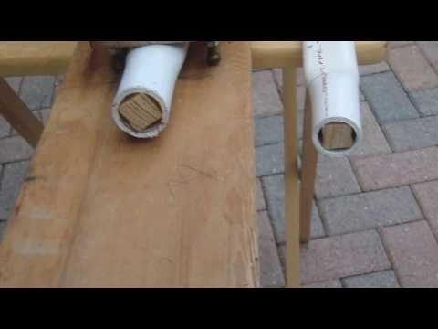 PVC Bow Limb Bending Jig
