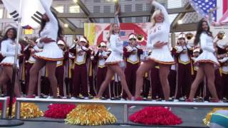 USC Band Pep Rally Union Square San Francisco California 2016