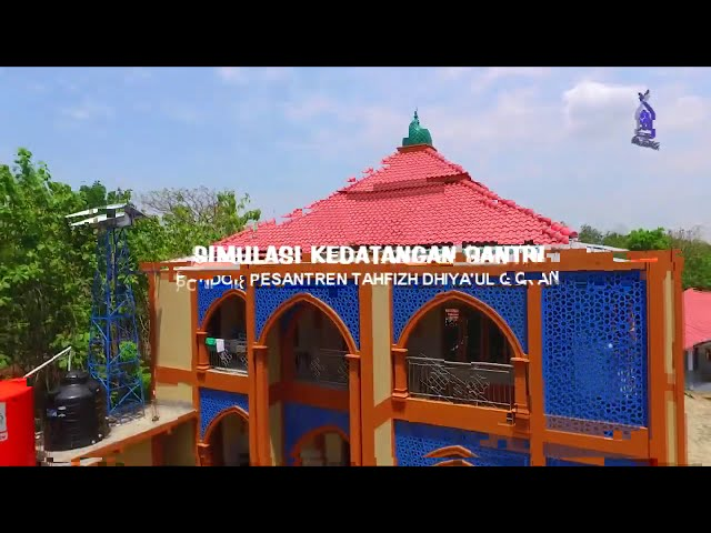 Simulasi Kedatangan Santri  Dhiya'ul Qur'an Sukoharjo tahun 2021