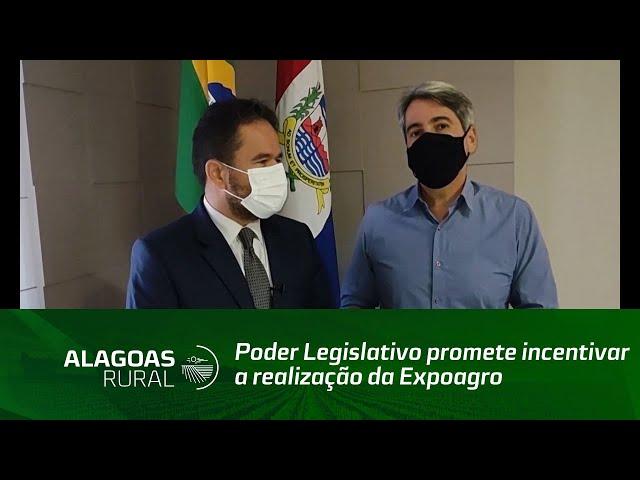 Poder Legislativo promete incentivar a realização da Expoagro