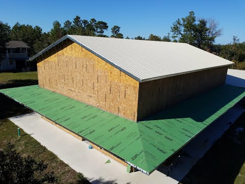 Episode 42: Wrapping Porch Sheathing