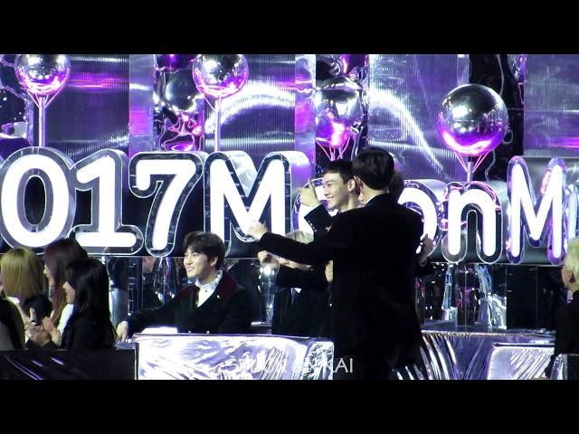 171202 MMA 멜론뮤직어워드 베스트 댄스 여자상 후보소개 EXO Reaction (나하은)