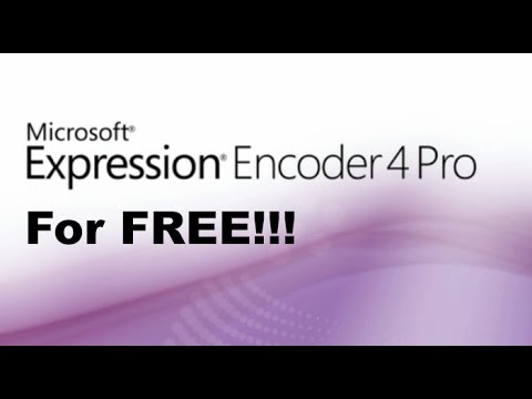 microsoft expression encoder 4 pro full version free download