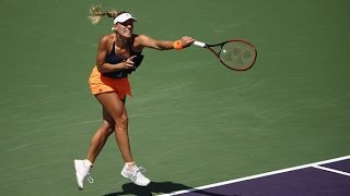 2017 Miami Open Third Round | Angelique Kerber vs Shelby Rogers | WTA Highlights