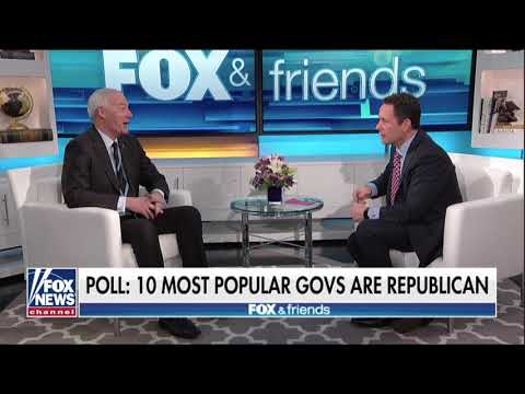 Governor Asa Hutchinson on Fox and Friends - February 5, 2018
