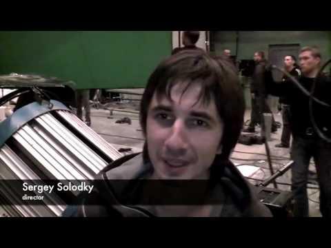 Dan Balan Vera Brejneva making the video 'Lepestkami Slez' part 2