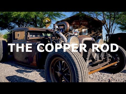 ALL COPPER Turbo Diesel Rat Rod!!!