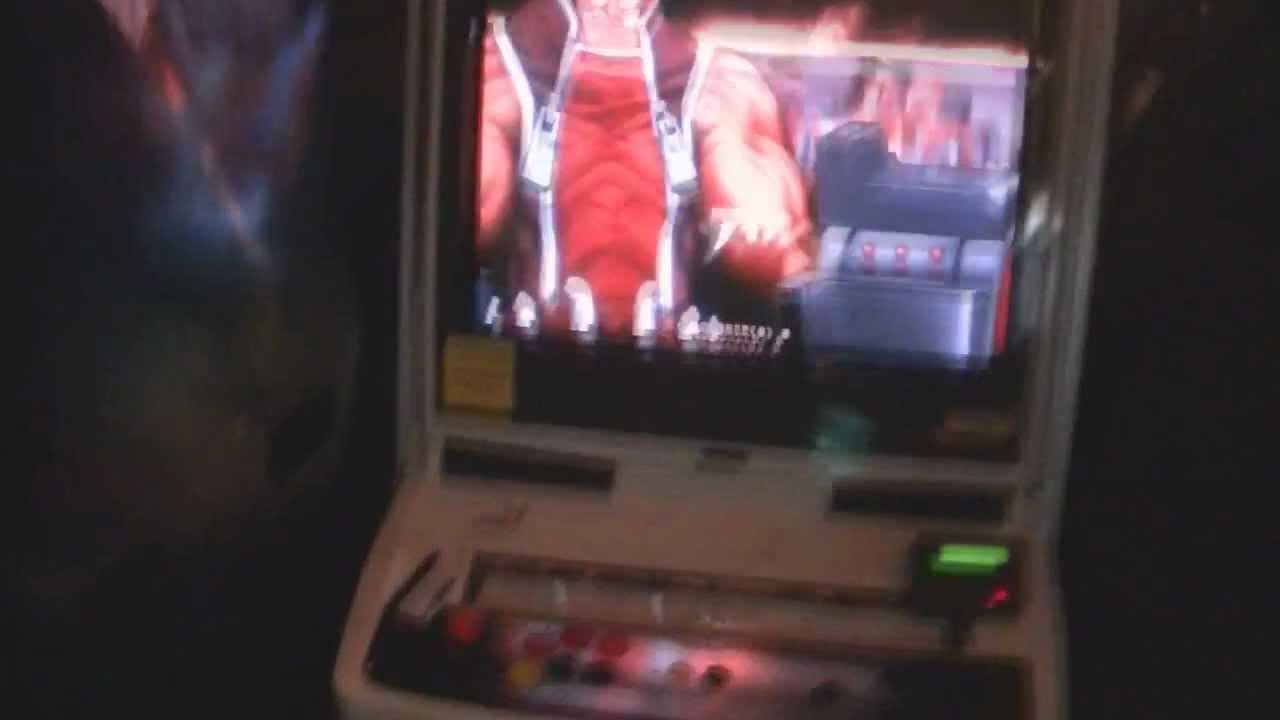 BlazBlue Arcade Cabinet - YouTube