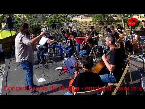 Concert Escola de Música -  Emplaçat  28 04 18