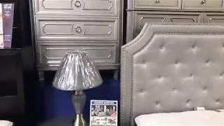 FB Live: Windsor Silver Bedroom Set